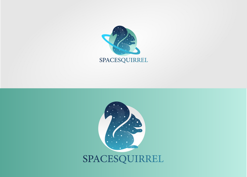 SpaceSquirrel Logo (For Sale) by DianaGyms