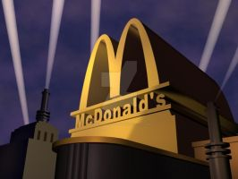 McDonald's Double Features logo 1989 Remake by angrybirdsfan2003