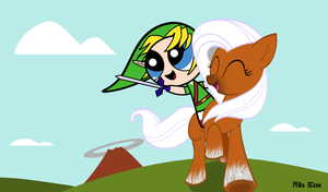 My Little Epona : Hyrule Field by MiketheMike