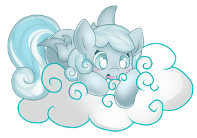 A place among the clouds by GlitterBell