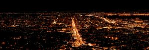 San Francisco at Night by dpierce1313