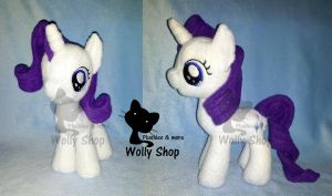 Rarity Filly! by Vegeto-UchihaPortgas