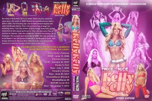 WWE Kelly Kelly DVD Cover by Chirantha