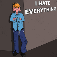 I Hate Everything, at least my version of him by Zorrothe2nd