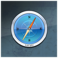 Mac OS X Safari icon by D1m22