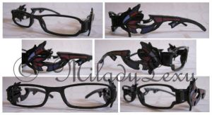 Bayonetta's Glasses by MiladyLexy