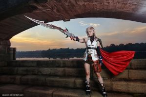Final Fantasy XIII - Lightning 02 by vaxzone
