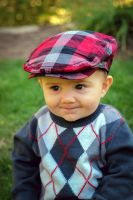 Argile Plaid and A Smile by EAKabakjian