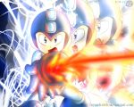 Megaman by NyandrewB