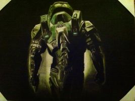 Halo 4 masterchief by carlolanni