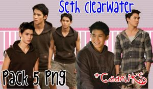 Pack 5 png de Seth Clearwater by CaamiKS