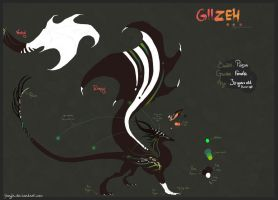 Giizeh reference sheet V.1 by Ganjja