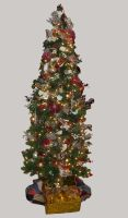 Christmas Tree 7 by GreenEyezz-stock