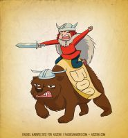 Bear Rider for Adzerk by rachelthegreat