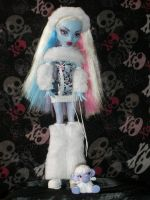 Abbey Bominable and Shiver by Bj-Lydia