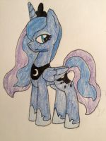 Princess Luna from MLP FiM by candylama101