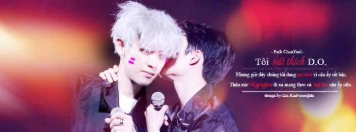 [Quotes Cover FB] ChanSoo ver.2 :3 by RinFoxie