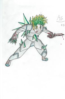 Character for my book: Glaucus by Mgcroco