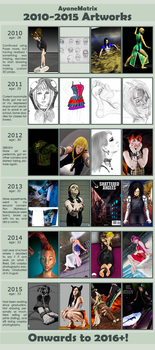 Improvement Meme - 2010 to now by AyaneMatrix