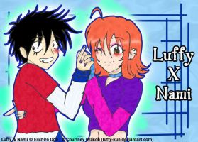 LuffyNami: Dance With Me by Luffy-Kun