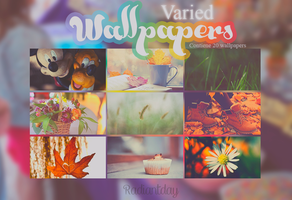 Varied Wallpapers || Clari. by RadiantDay