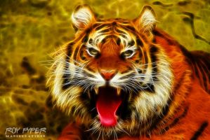 Tiger: Fractalius Re-Edit by nerdboy69