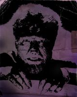The Wolfman Lon Chaney Jr. by ZlayerOne
