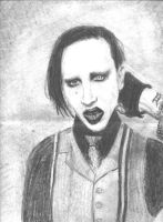 Mr.Manson by angelacypher