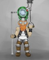 Oversized Ray gun Gnome by Teh1Person0