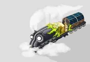 DREAM 06-Steam Constrictor by TypoCity