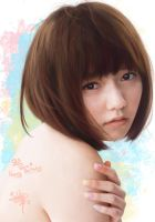 painting portrait Paruru (Shimazaki Haruka) by aimgallagher