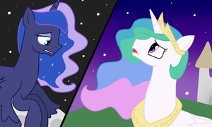 Why Can't we Meet Between the Moon and the Sun? by MelodyTheUnicorn