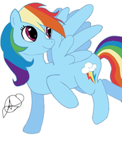 Rainbow Dash :3 by Aletsis