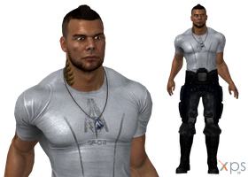 ME3 James Vega Casual for XPS by Just-Jasper