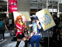 sonic at anime expo by DerpNmazer