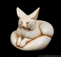 Fennec Fox Ivory by Reptangle