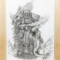 SDS 95 - Primarch Vulkan by imaan8298