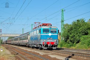 V43 1001 with a special train in Gyor on 2013 by morpheus880223