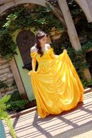 .Disney - Belle by manservant-merlin