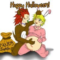 Happy Halloween Roxas by ObsessedShinigami