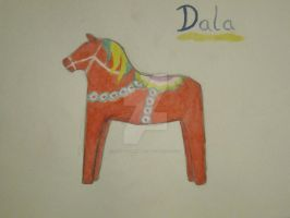 Dala Horse by ThoughtMemory