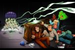 -Real Ghostbusters Face Off- by SeishinKibou