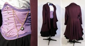 Genderbent 11th Doctor Purple Cosplay Costume by glimmerwood