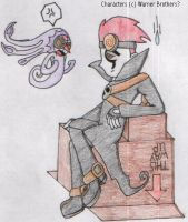 One fed up Jack Spicer by SamCyberCat