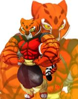 Tigress colored by the-Sleuth