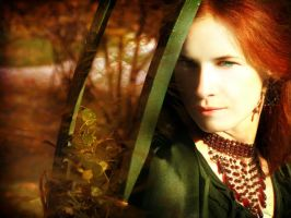 In love with autumn II by DarkVenusPersephonae