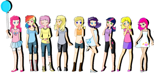 The main 6 plus 3 extras~ by pokeshipper4life