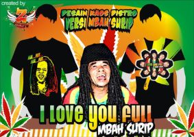 i love you full, mbah surip by zonamerah
