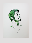 Misha paper cut with Kale by tripperfunster