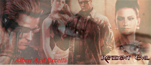Wesker and Excella 7 by AlbertXExcellaLover